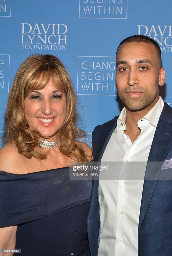 Producer Joanna Plafsky and Lawrence Smith attend 'An Amazing Night Of Comedy: A David Lynch Foundation Benefit For Veterans With PTSD' at New York City Center on April 30, 2016 in New York City.