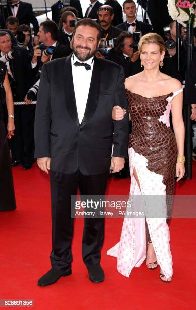 Producer Joel Silver and his wife Karyn Fields arriving for the premiere of The Matrix Reloaded at the Palais des Festival in Cannes