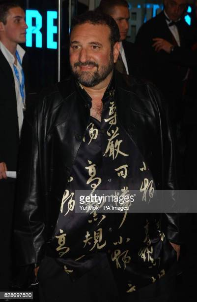 Producer Joel Silver arriving for the UK premiere of The Matrix Reloaded at the Odeon cinema in London's Leicester Square