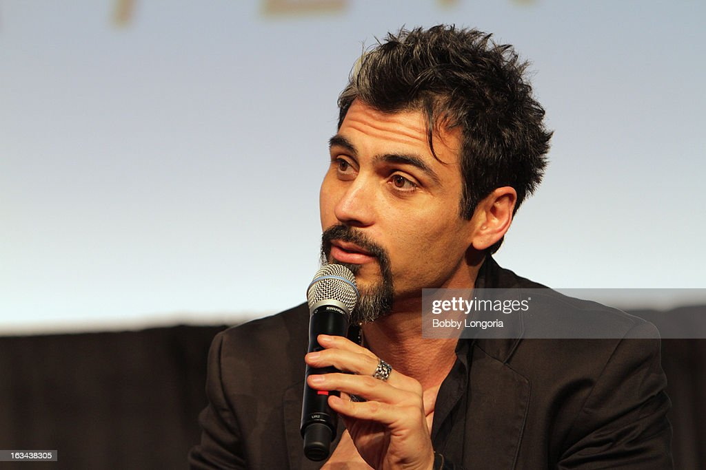 Producer Joey Figueroa speaks onstage at 'Milius' Q&A during the 2013 SXSW Music, Film + Interactive Festival at Austin Convention Center on March 9, 2013 in Austin, Texas.