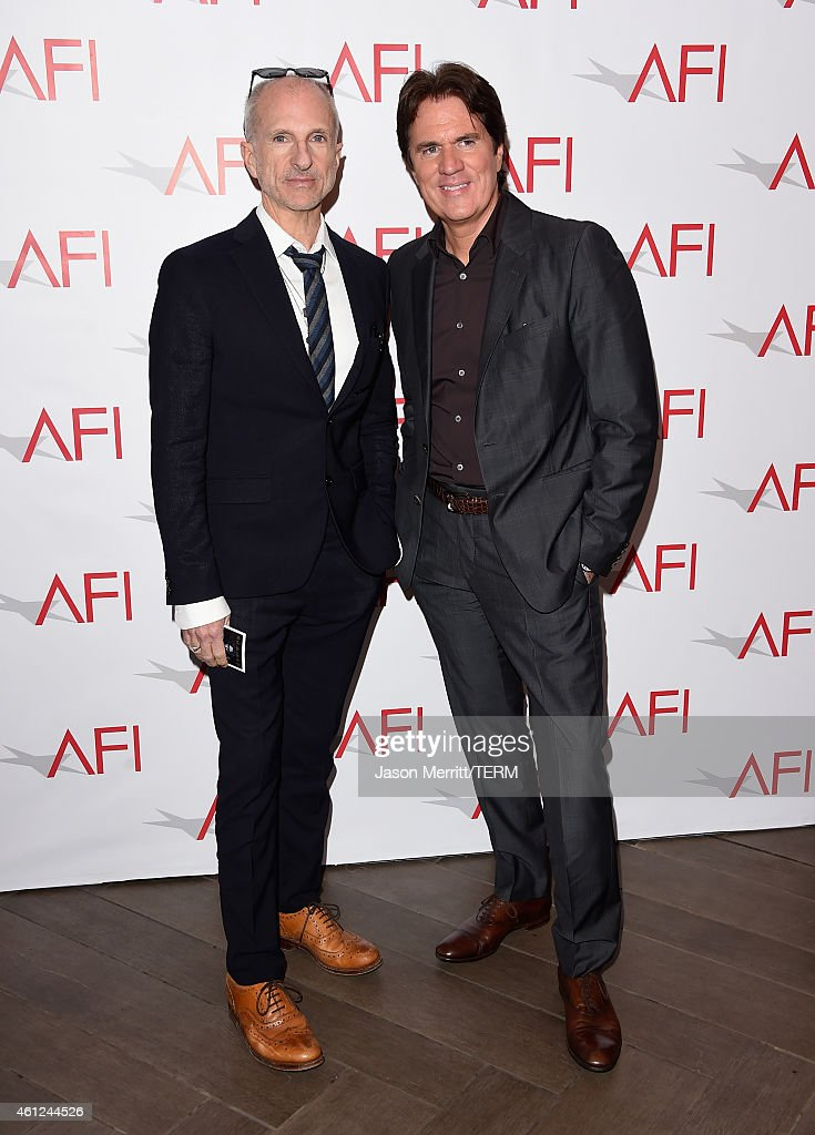 Producer John DeLuca (L) and director Rob Marshall attend the 15th Annual AFI Awards at Four Seasons Hotel Los Angeles at Beverly Hills on January 9, 2015 in Beverly Hills, California.