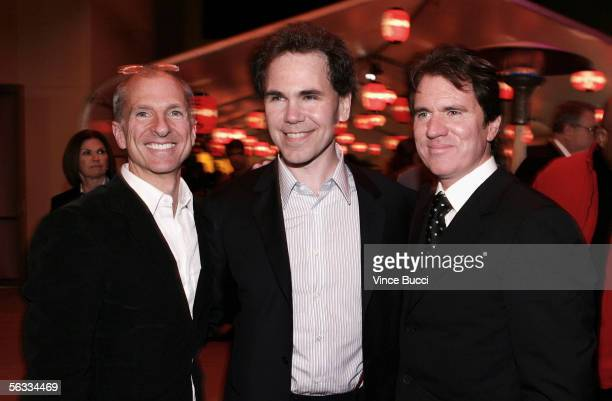 Producer John DeLuca author Arthur Golden and director Rob Marshall attend the after party for the Los Angeles premiere of Columbia Pictures'...