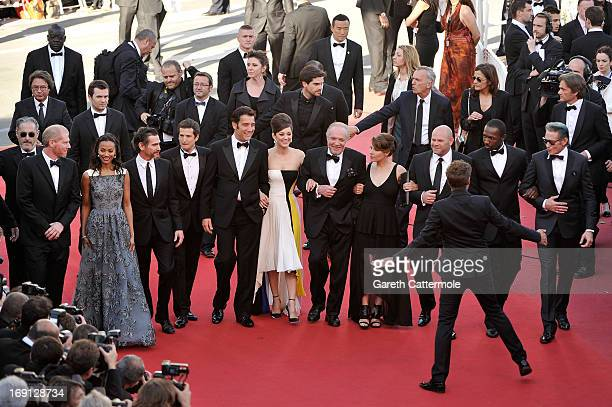 Producer John Lesher actors Noah Emmerich Zoe Saldana Billy Crudup Guillaume Canet Clive Owen Marion Cotillard James Caan Lili Taylor Domenick...
