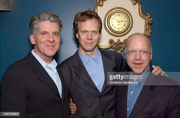 Producer John Lyons Peter Hedges and Bingham Ray during 'Pieces of April' New York City Premiere After Party at Lansky Lounge in New York City New...