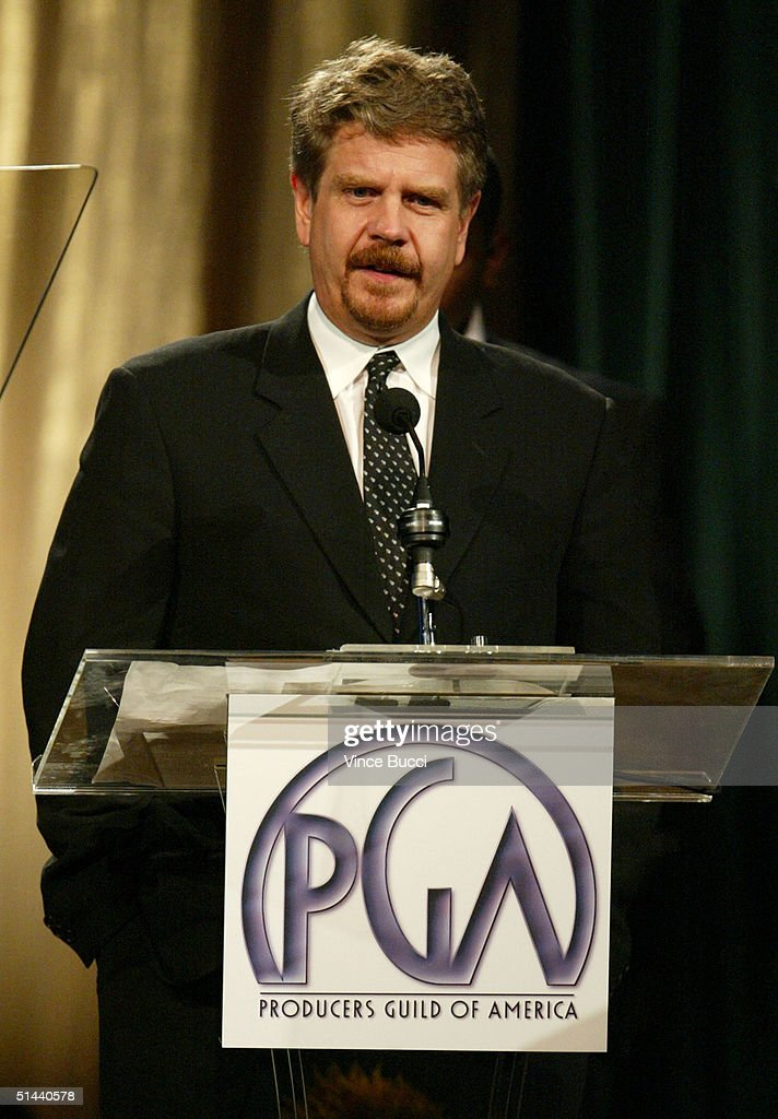 Producer John Wells accepts an award onstage during The Producers Guild of America's 3rd Annual Celebration of Diversity at the Regent Beverly...