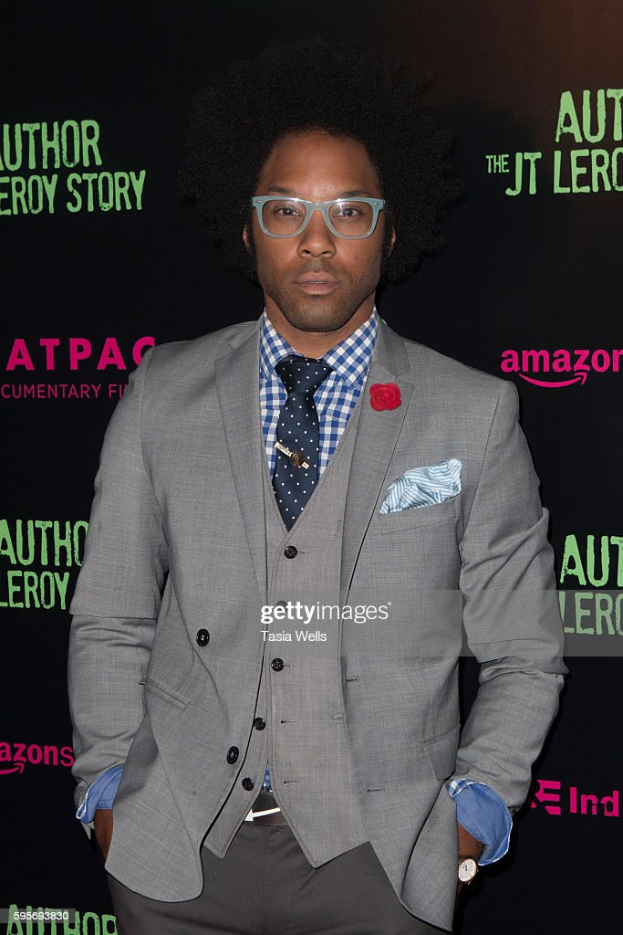 Producer Jonathan Fernandez attends the premiere of Amazon Studios' 'Author The JT Leroy Story' at NeueHouse Hollywood on August 25 2016 in Los...