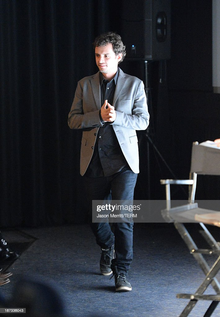 Producer Jonas Cuaron attends the L.A. Times Envelope Screening Series and Q&A of 'Gravity' at ArcLight Sherman Oaks on November 7, 2013 in Sherman Oaks, California.