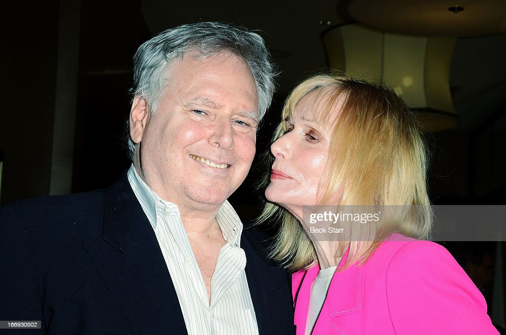 Producer Jonathan D. Krane and Lifetime Acheivement Award recipiant actress <a gi-track='captionPersonalityLinkClicked' href=/galleries/search?phrase=Sally+Kellerman&family=editorial&specificpeople=207185 ng-click='$event.stopPropagation()'>Sally Kellerman</a> attend The Hollywood Chamber Of Commerce 92nd Annual Installation & Lifetime Achievement Awards luncheon at Sheraton Universal on April 18, 2013 in Universal City, California.