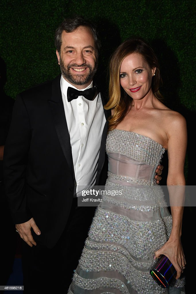 Producer Judd Apatow and actress Leslie Mann attends the 20th annual Critics' Choice Movie Awards at the Hollywood Palladium on January 15, 2015 in Los Angeles, California.