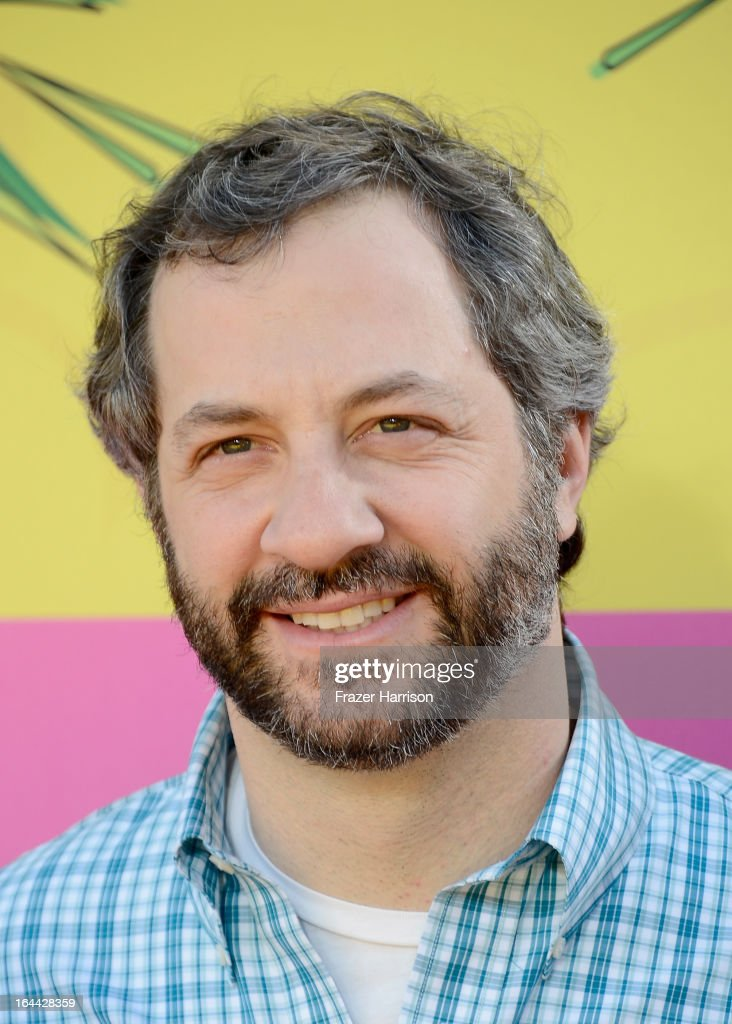 Producer Judd Apatow arrives at Nickelodeon's 26th Annual Kids' Choice Awards at USC Galen Center on March 23, 2013 in Los Angeles, California.