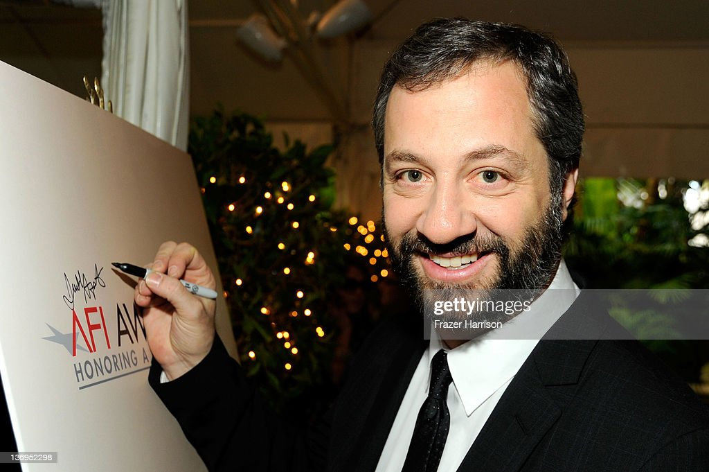 Producer Judd Apatow arrives at the 12th Annual AFI Awards held at the Four Seasons Hotel Los Angeles at Beverly Hills on January 13 2012 in Beverly...