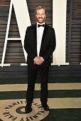 Producer Judd Apatow arrives at the 2016 Vanity Fair Oscar Party Hosted By Graydon Carter at Wallis Annenberg Center for the Performing Arts on...