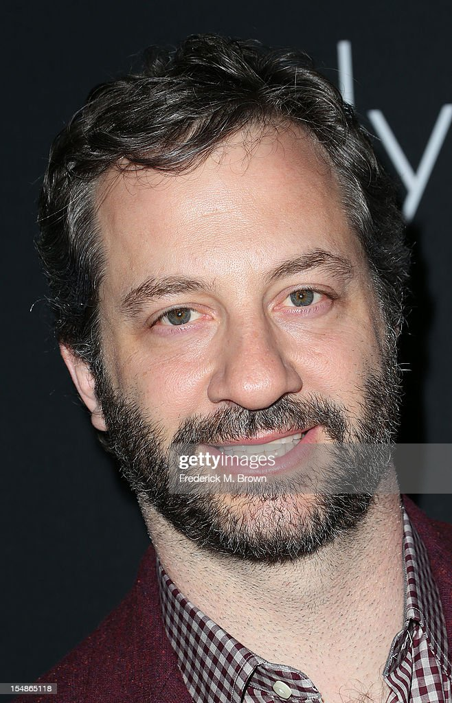 Producer <a gi-track='captionPersonalityLinkClicked' href=/galleries/search?phrase=Judd+Apatow&family=editorial&specificpeople=854225 ng-click='$event.stopPropagation()'>Judd Apatow</a> attends Elyse Walker Presents The Eighth Annual Pink Party Hosted By Michelle Pfeiffer To Benefit Cedars-Sinai Women's Cancer Program at Barkar Hangar Santa Monica Airport on October 27, 2012 in Santa Monica, California.