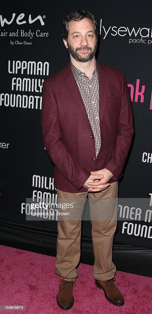 Producer Judd Apatow attends Elyse Walker Presents The Eighth Annual Pink Party Hosted By Michelle Pfeiffer To Benefit Cedars-Sinai Women's Cancer Program at Barkar Hangar Santa Monica Airport on October 27, 2012 in Santa Monica, California.