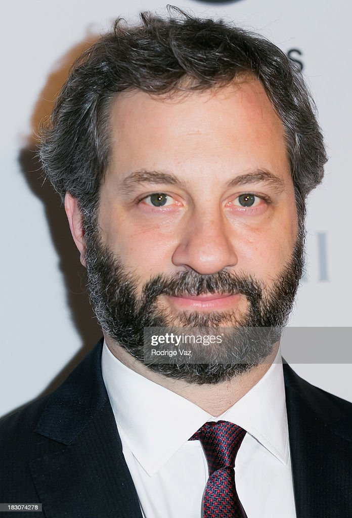 Producer <a gi-track='captionPersonalityLinkClicked' href=/galleries/search?phrase=Judd+Apatow&family=editorial&specificpeople=854225 ng-click='$event.stopPropagation()'>Judd Apatow</a> attends San Diego Film Festival's tribute to honor <a gi-track='captionPersonalityLinkClicked' href=/galleries/search?phrase=Judd+Apatow&family=editorial&specificpeople=854225 ng-click='$event.stopPropagation()'>Judd Apatow</a> at Museum of Contemporary Art on October 3, 2013 in La Jolla, California.