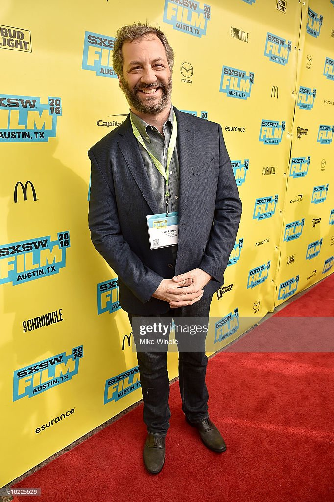 Producer Judd Apatow attends the premiere of 'Peewee's Big Holiday' during the 2016 SXSW Music Film Interactive Festival at Paramount Theatre on...
