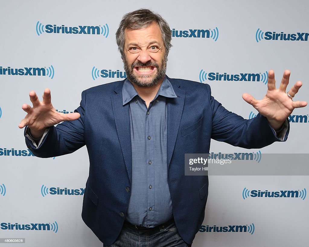 Producer Judd Apatow visits the SiriusXM Studios on July 13 2015 in New York City