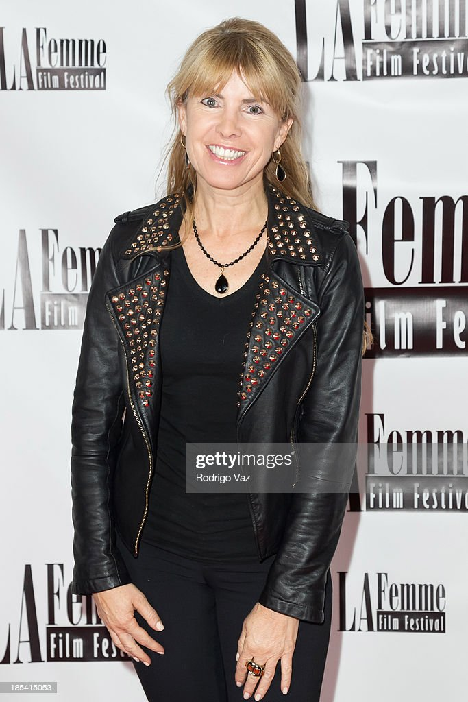Producer <a gi-track='captionPersonalityLinkClicked' href=/galleries/search?phrase=Julia+Verdin&family=editorial&specificpeople=240232 ng-click='$event.stopPropagation()'>Julia Verdin</a> attends the 9th Annual La Femme International Film Festival 'A Case Of You' premiere at Regal Cinemas L.A. Live on October 19, 2013 in Los Angeles, California.