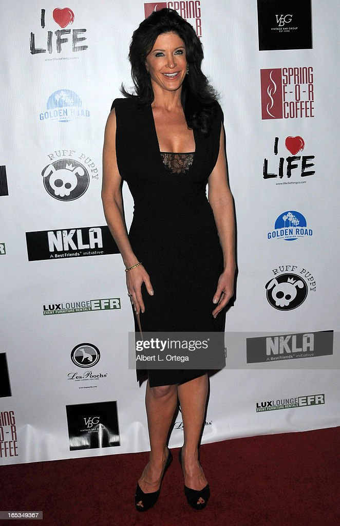 Producer Julie Lott Gallo arrives for the No Kill LA Charity Event held at Fred Segal on April 2, 2013 in West Hollywood, California.