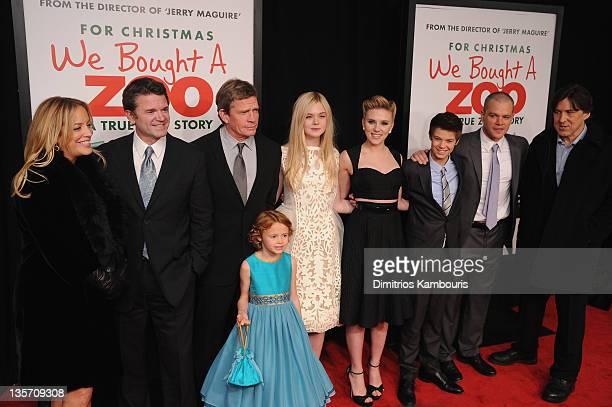 Producer Julie Yorn John Michael Higgins Thomas Haden Church Maggie Elizabeth Jones Elle Fanning Scarlett Johansson Colin Ford Matt Damon and...