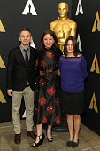 Producer Justin Wilkes director Liz Garbus and producer Amy Hobby attend the 88th annual Academy Awards Oscar Week celebrates Documentaries at AMPAS...