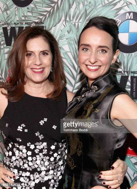 Producer Kahane Cooperman and Raphaela Neihausen attend the tenth annual Women in Film PreOscar Cocktail Party presented by Max Mara and BMW at...