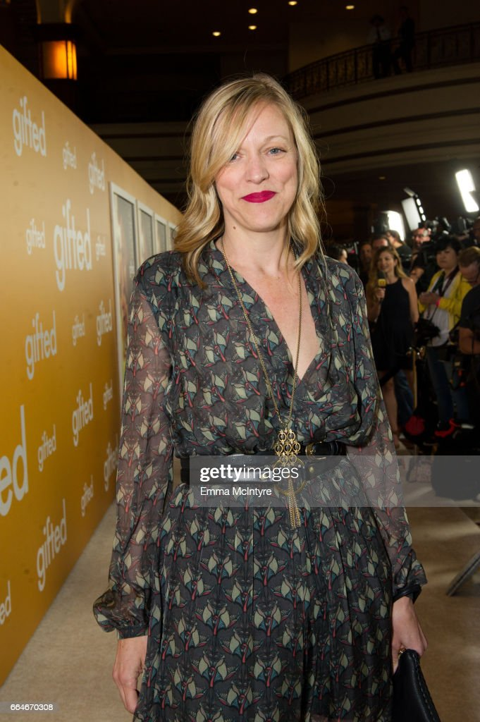 Producer Karen Lunder arrives at the premiere of Fox Searchlight Pictures' 'Gifted' at Pacific Theaters at the Grove on April 4, 2017 in Los Angeles, California.