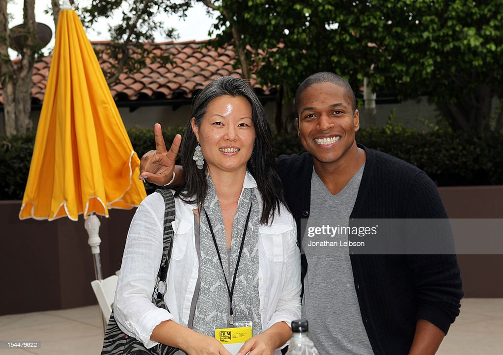 Producer <a gi-track='captionPersonalityLinkClicked' href=/galleries/search?phrase=Karin+Chien&family=editorial&specificpeople=4164723 ng-click='$event.stopPropagation()'>Karin Chien</a> and Director Sheldon Candis attend the Film Independent Film Forum at Directors Guild of America on October 20, 2012 in Los Angeles, California.