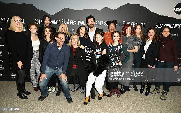 Producer Karina Miller actress Maya Eshet actor Keanu Reeves actress Kathryn Prescott Sundance Film Festival Senior Programmer David Courier producer...