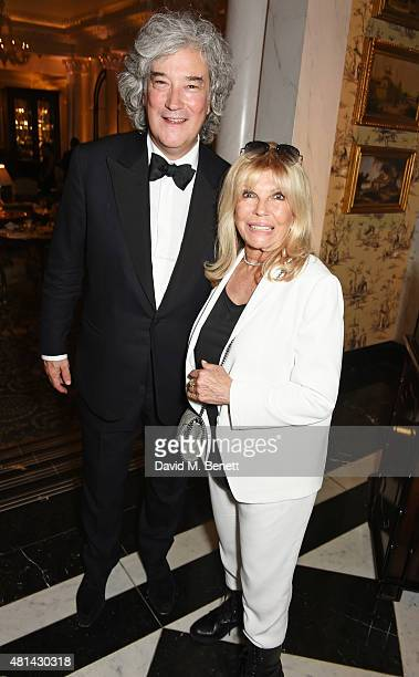 Producer Karl Sydow and Nancy Sinatra attend an after party following the press night performance of 'Sinatra At The London Palladium' at The Savoy...