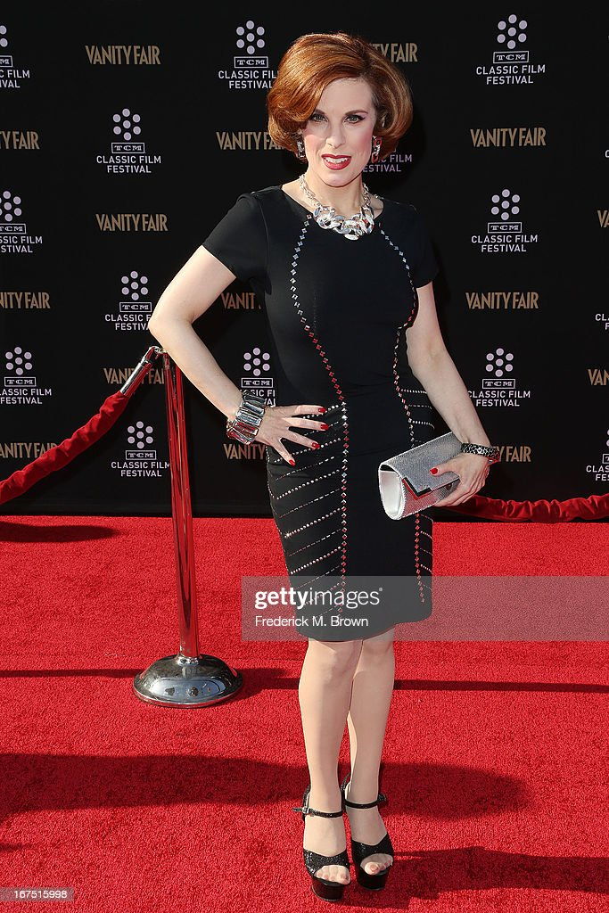 Producer Kat Kramer attends the 2013 TCM Classic Film Festival Opening Night Gala screening of 'Funny Girl' at the TCL Chinese Theatre on April 25, 2013 in Hollywood, California.
