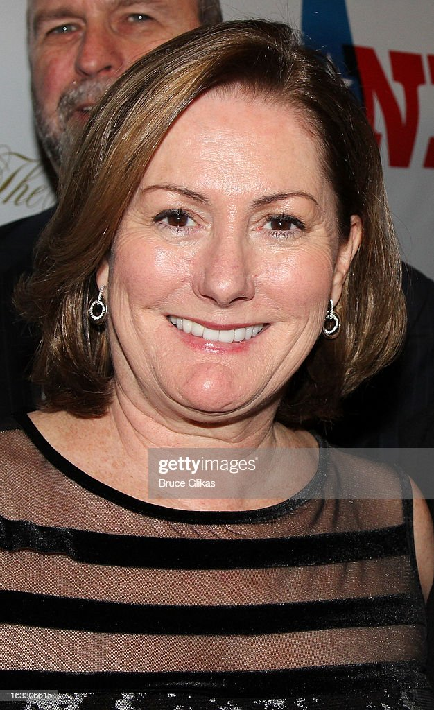 Producer Kate McCauley Hathaway attends the opening night of 'Ann' at Vivian Beaumont Theatre at Lincoln Center on March 7, 2013 in New York City.
