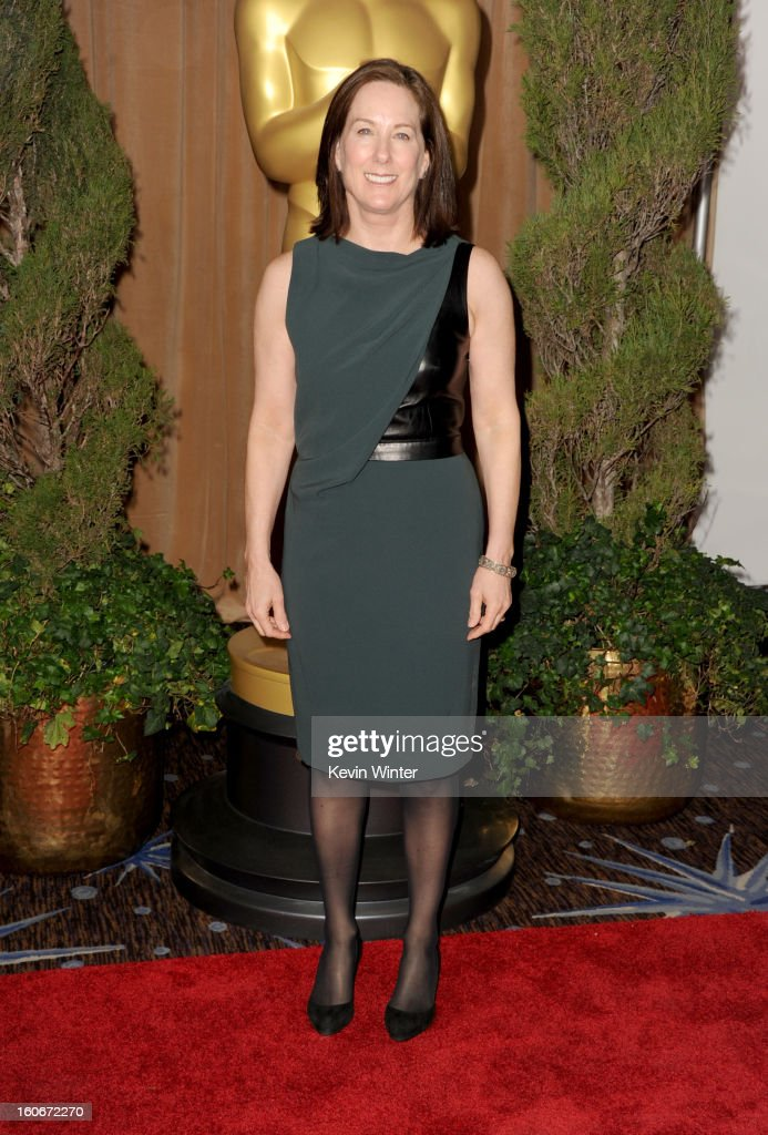 Producer Kathleen Kennedy attends the 85th Academy Awards Nominations Luncheon at The Beverly Hilton Hotel on February 4, 2013 in Beverly Hills, California.