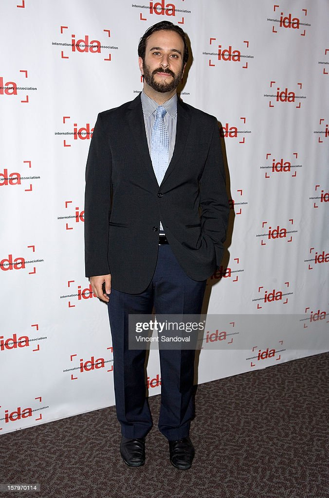 Producer Kaveh Taherian attends the 2012 IDA Documentary Awards at Directors Guild Of America on December 7, 2012 in Los Angeles, California.