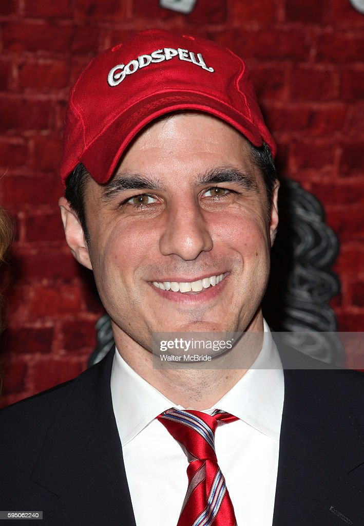 Producer Ken Davenport arriving for the Opening Night Performance of the Broadway Revival of 'Godspell' at Circle in the Square Theatre in New York...