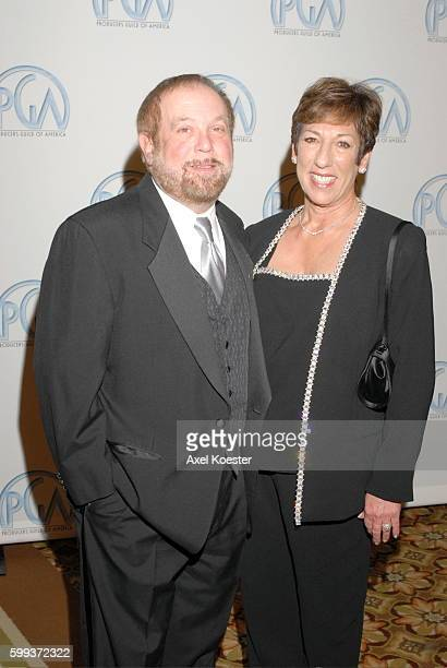 Producer Ken Ehrlich and wife Harriet arrive to the Producers Guild of Amercia Awards banquet at the Hyatt Regency Century Plaza Hotel in Los Angeles