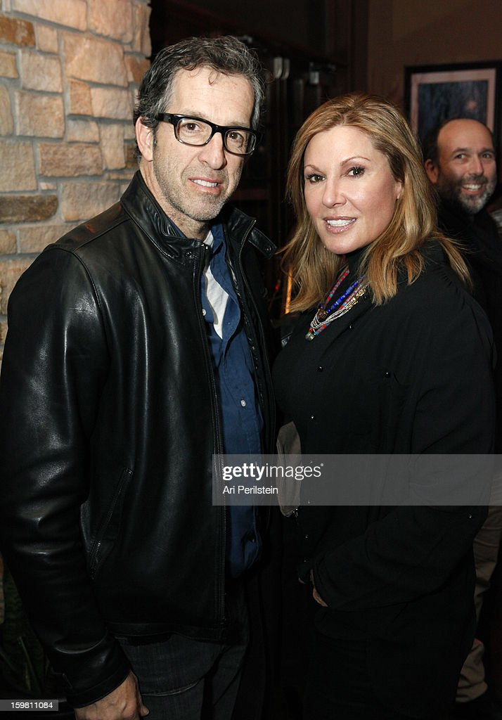 Producer Kenneth Cole and Maria Cuomo Cole attend the HBO Documentary Films Sundance Party on January 20, 2013 in Park City, Utah.