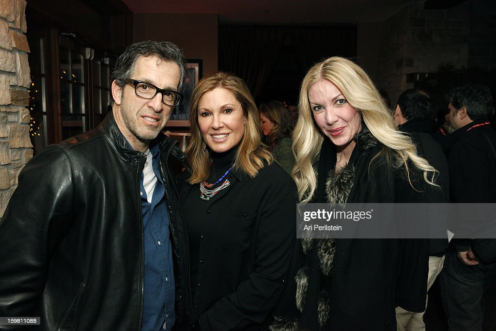 Producer Kenneth Cole, Maria Cuomo Cole and Regan Hofman attend the HBO Documentary Films Sundance Party on January 20, 2013 in Park City, Utah.