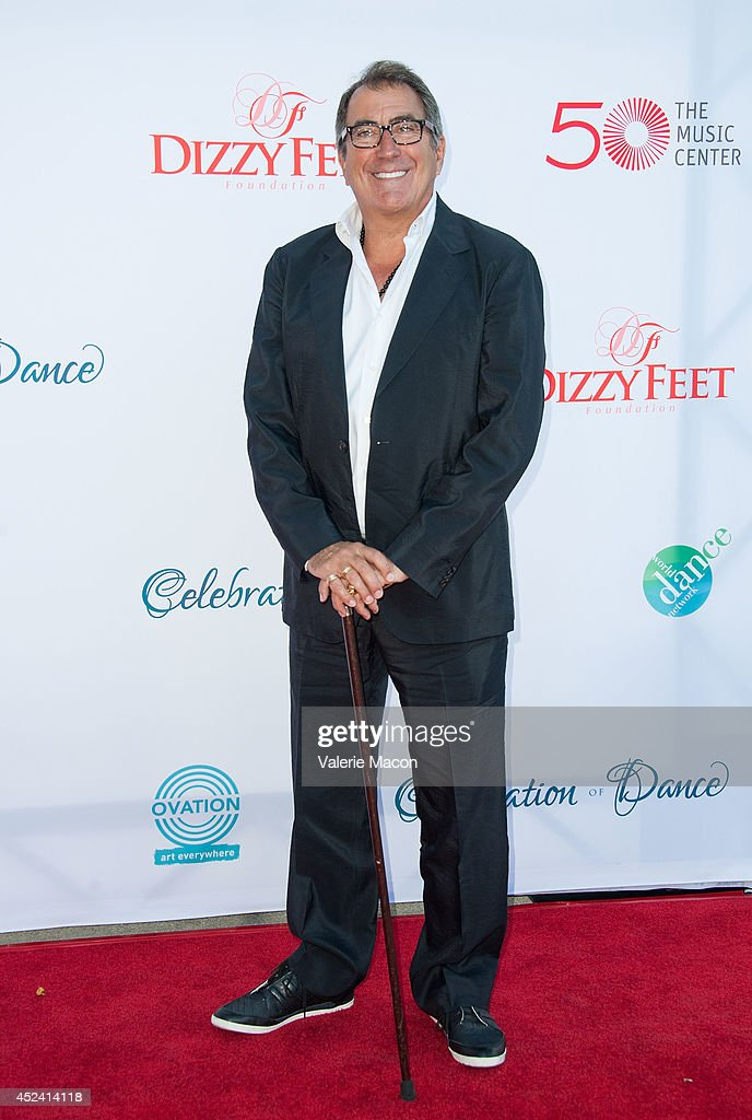 Producer <a gi-track='captionPersonalityLinkClicked' href=/galleries/search?phrase=Kenny+Ortega&family=editorial&specificpeople=820096 ng-click='$event.stopPropagation()'>Kenny Ortega</a> arrives at the 4th Annual Celebration Of Dance Gala Presented By The Dizzy Feet Foundation at Dorothy Chandler Pavilion on July 19, 2014 in Los Angeles, California.