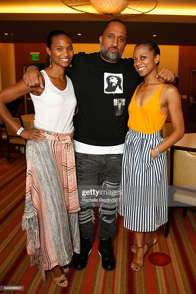 Producer Kenya Barris (C) attends the ABFF Encore @ BET Experience Screening The Life of a Showrunner / Master Class during the 2016 BET Experience on June 25, 2016 in Los Angeles, California.