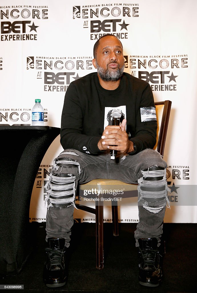 Producer Kenya Barris speaks at the ABFF Encore @ BET Experience Screening The Life of a Showrunner / Master Class during the 2016 BET Experience on June 25, 2016 in Los Angeles, California.