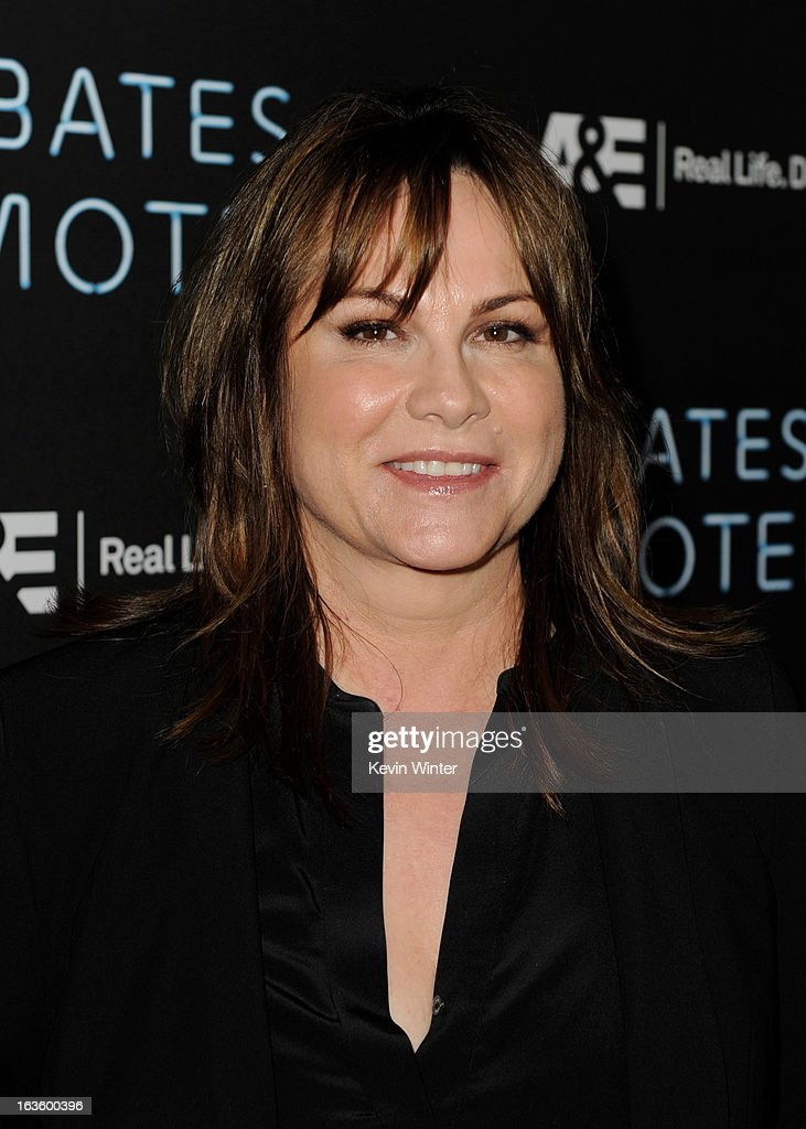 Producer Kerry Ehrin arrives at the premiere of A&E Network's 'Bates Motel' at Soho House on March 12, 2013 in West Hollywood, California.