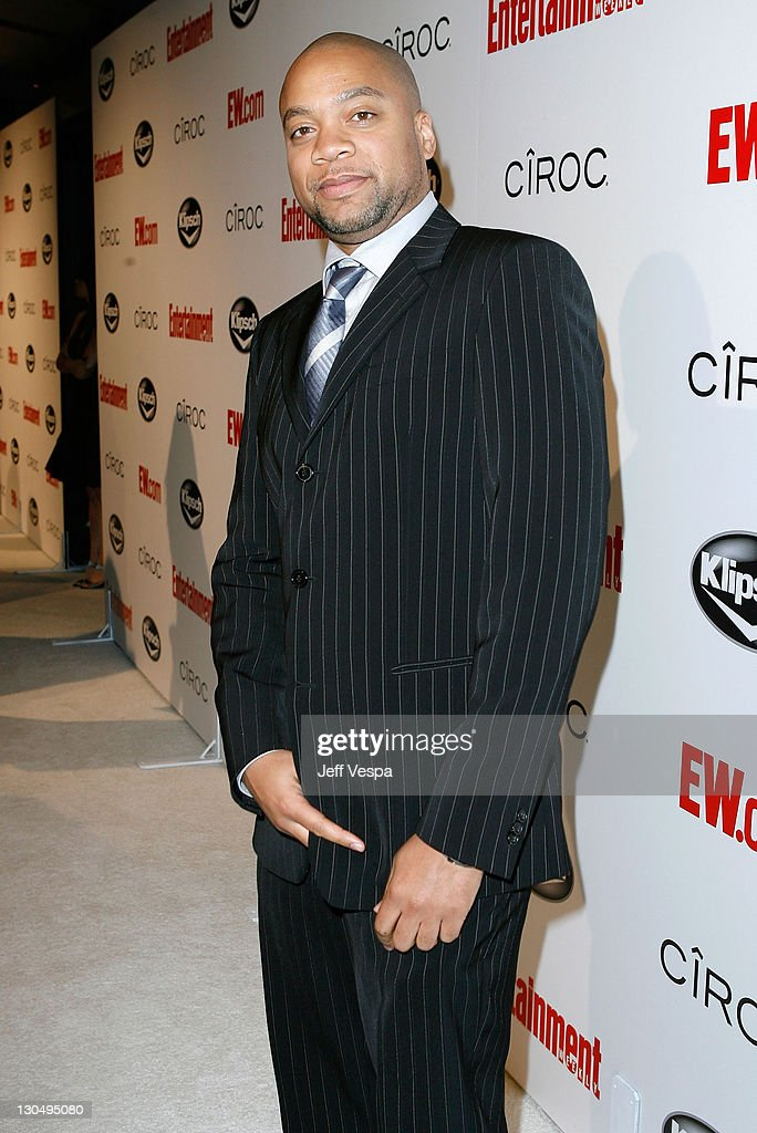Producer Kerry 'Krucial' Brothers arrives at Entertainment Weekly's toast to Antonio 'LA' Reid at STKLA on February 10 2008 in West Hollywood...