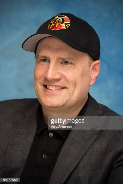 Producer Kevin Feige at the 'Thor Ragnarok' Press Conference at the Montage Hotel on October 11 2017 in Beverly Hills California