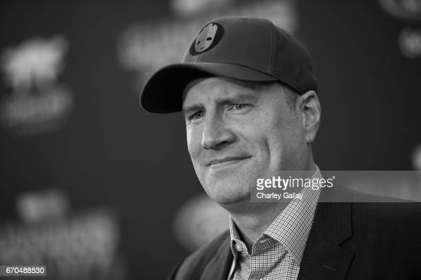 "Producer Kevin Feige at The World Premiere of Marvel Studios' ""Guardians of the Galaxy Vol 2"" at Dolby Theatre in Hollywood CA April 19th 2017"