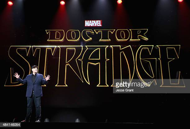 Producer Kevin Feige of CAPTAIN AMERICA CIVIL WAR took part today in 'Worlds Galaxies and Universes Live Action at The Walt Disney Studios'...