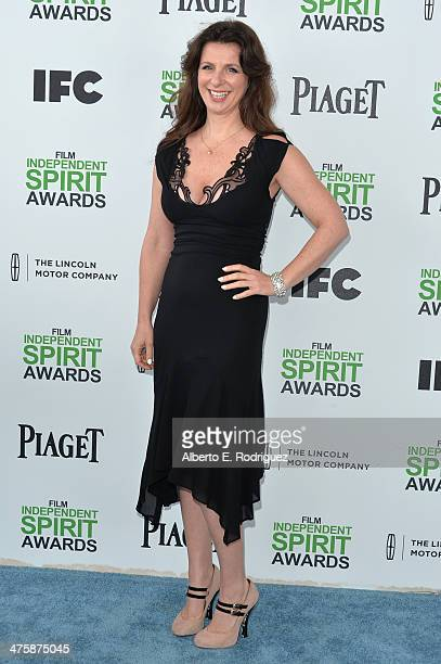 Producer Kim Jackson attends the 2014 Film Independent Spirit Awards at Santa Monica Beach on March 1 2014 in Santa Monica California