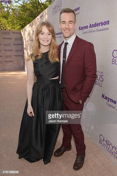 Producer Kimberly Van Der Beek and actor James Van Der Beek attend the 14th annual Chrysalis Butterfly Ball sponsored by Audi Kayne Anderson Lauren B...
