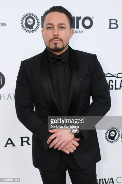 Producer Klemens Hallmann attends the 25th Annual Elton John AIDS Foundation's Academy Awards Viewing Party at The City of West Hollywood Park on...