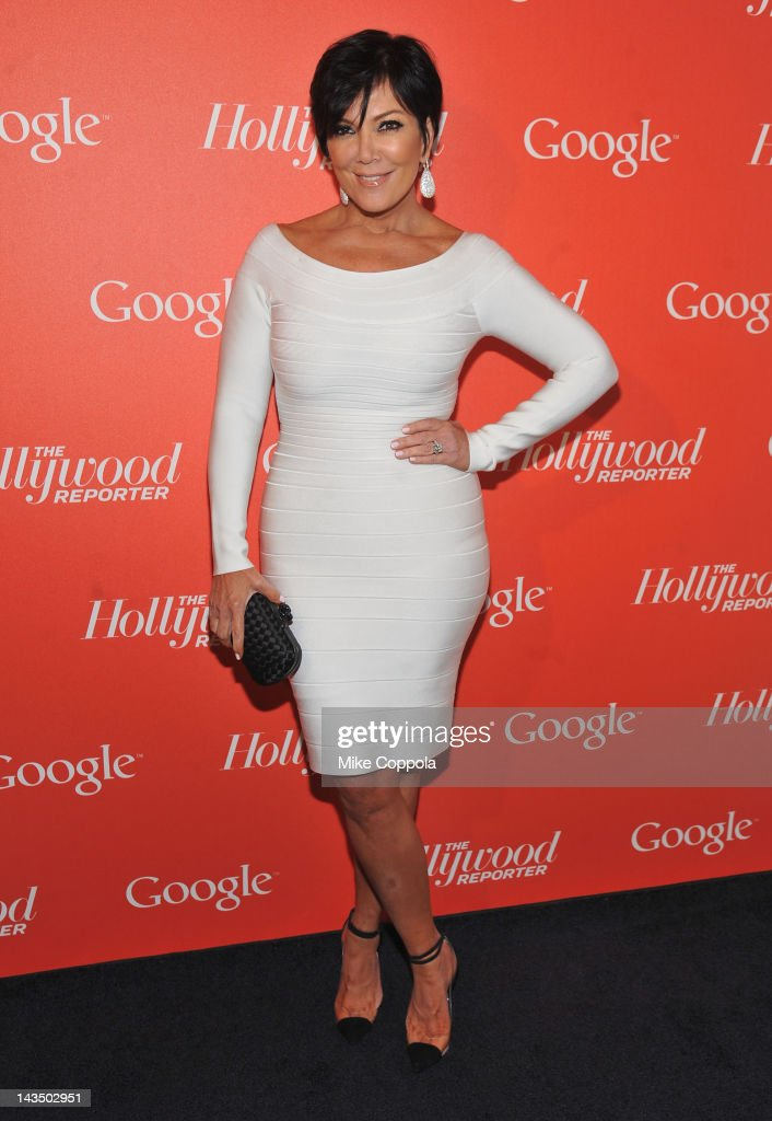 Producer <a gi-track='captionPersonalityLinkClicked' href=/galleries/search?phrase=Kris+Jenner&family=editorial&specificpeople=762610 ng-click='$event.stopPropagation()'>Kris Jenner</a> attends Google & Hollywood Reporter Host an Evening Celebrating The White House Correspondents' Weekend on April 27, 2012 in Washington, DC.